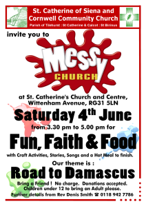 Messy Church June 16