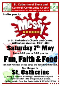Messy Church May 16