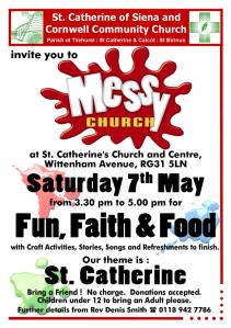 Messy Church May 16