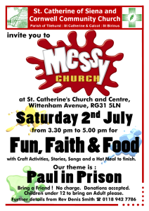 Messy Church July 16