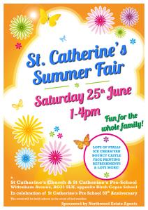 Summer Fayre '16 Poster