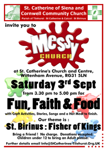 Messy Church Sep 16