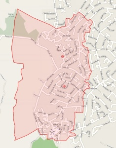 Original St Catherine's Boundaries