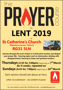 The Prayer Course for Lent 2019