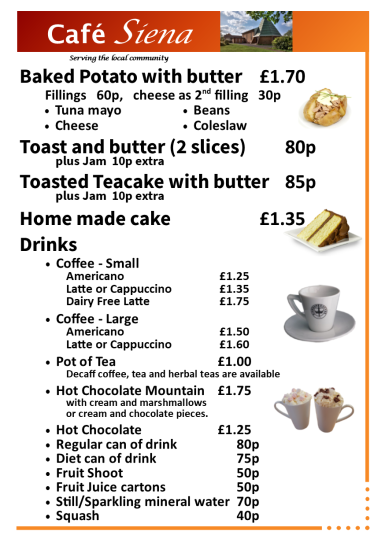 Cafe Menu (Booklet) V5 - Page 4