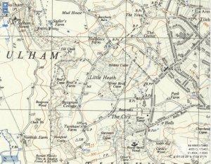 Map of Tilehurst
